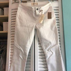 Rachel Roy White Skinny Jeans